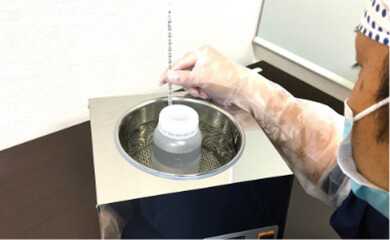 芽胞菌の芽胞形成工程